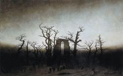1024px Caspar David Friedrich The Abbey in the Oakwood WGA08240