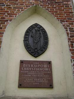 220px Bishop Christian Plaque Grudziadz